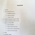 KK.Bánov- XI sjezd MSKS- program